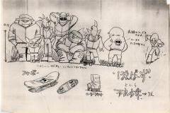 ボンバーズのキャラクター表